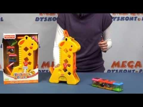 Żyrafa Pełna Klocków / Tumblin' Sounds Giraffe - Fisher Price - Www.MegaDyskont.pl - Sklep