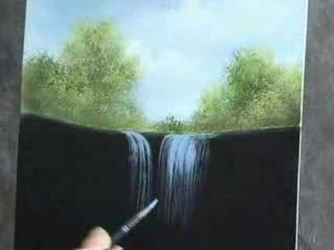 Oil painting lesson wilson bickford waterfall youtube for Easy oil painting tutorial