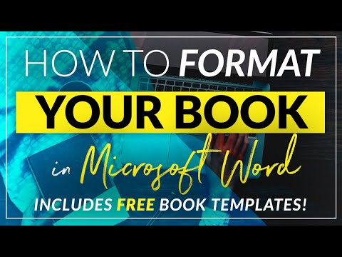 How to format a book for print in MS Word: a step by step tu