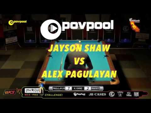 FINAL Match - Jayson SHAW vs Alex PAGULAYAN / 2017 PRO 10 Challenge