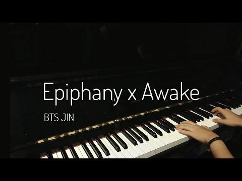 Epiphany x Awake - BTS JIN (Piano mashup) [Reupload] - Mercy