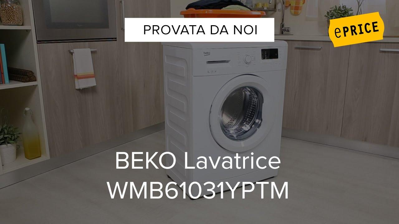 Video Recensione Lavatrice Beko Wmb61031yptm Youtube