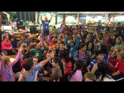 Glen Allen Elementary school 4th graders sing the water cycle song