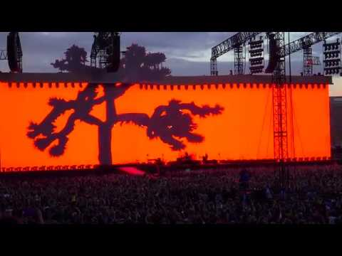 """U2 """"Where The Streets"""" with Air Corp The Joshua Tree Tour Live from Dublin (4K)"""