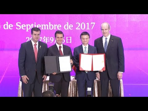 Mexican President Eyes Closer Cooperation with Chinese E-commerce Companies