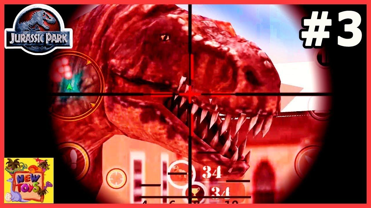 DINOSAUR HUNTER 3D:  SĂN KHỦNG LONG BẠO CHÚA | NEWTOYSTV #38