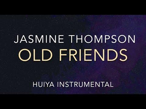 [Instrumental/karaoke] Jasmine Thompson - Old Friends (Piano ver.) [+Lyrics]