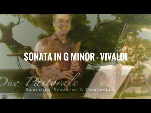 Vivaldi Sonata in G minor (Il Pastor Fido) recorder & continuo