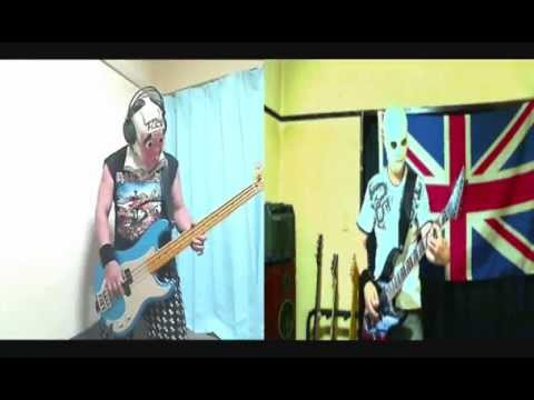 Iron Maiden The Duellists bass & guitar cover
