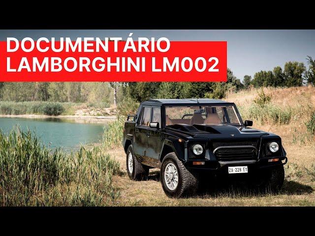 A história do Lamborghini LM002 - MTED