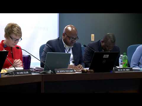 April 22, 2019 CCSD Board Meeting