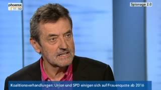 Phoenix - Spionage 2 0 incl. Interview mit Prof. Josef Foschepoth -  18.11.2013