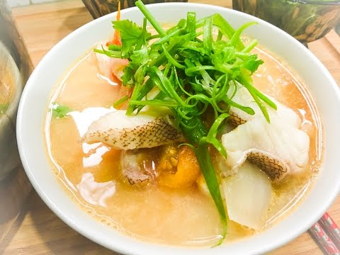 Malaysian Fish Head Soup Recipe With Rice Noodle 马来西亚鱼头米粉秘方 - Malaysian Recipe