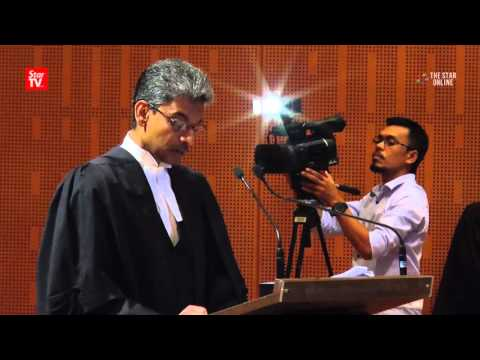Malaysian Bar president's comments on NSC Bill, 1MDB probe