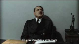 """Hitler is asked """"Do you want fries with that?"""""""