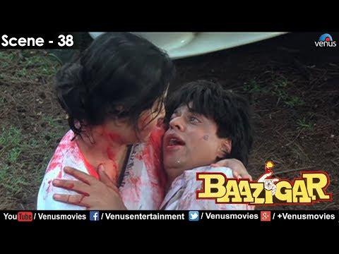 Sharukh Khan dying (Baazigar)