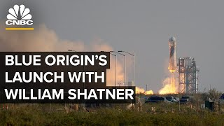 Watch Bezos' Blue Origin launch a crew with William Shatner to space — 10/13/2021