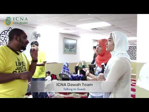 ICNA CO Participation in the Open House of Masjid Alnur, Denver CO