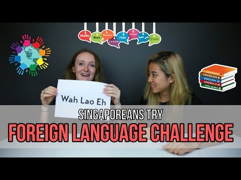 Singaporeans Try: Foreign Language Challenge | EP 50