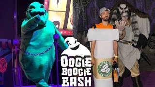 Oogie Boogie Bash Opening Night Halloween Party at Disney California Adventure!