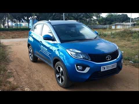 2018 Tata Nexon Moroccan Blue Colour - Walkaround !!