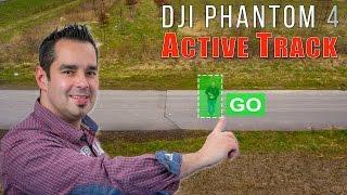 DJI Phantom 4 #05 - ActiveTrack