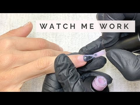 """Full Gel Polish MANICURE in real time at my STUDIO feat. AKZENTZ  LUXIO """"DELICATE"""""""