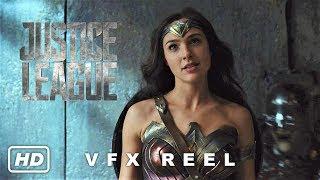 Justice League VFX Reel + Deleted Shot of Wonder Woman