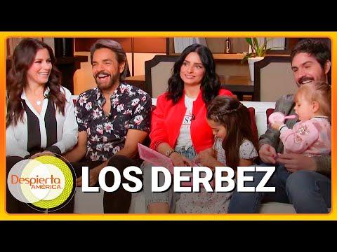Junto a su gran familia, Eugenio presentó el reality 'De viaje con los Derbez' (Entrevista completa)