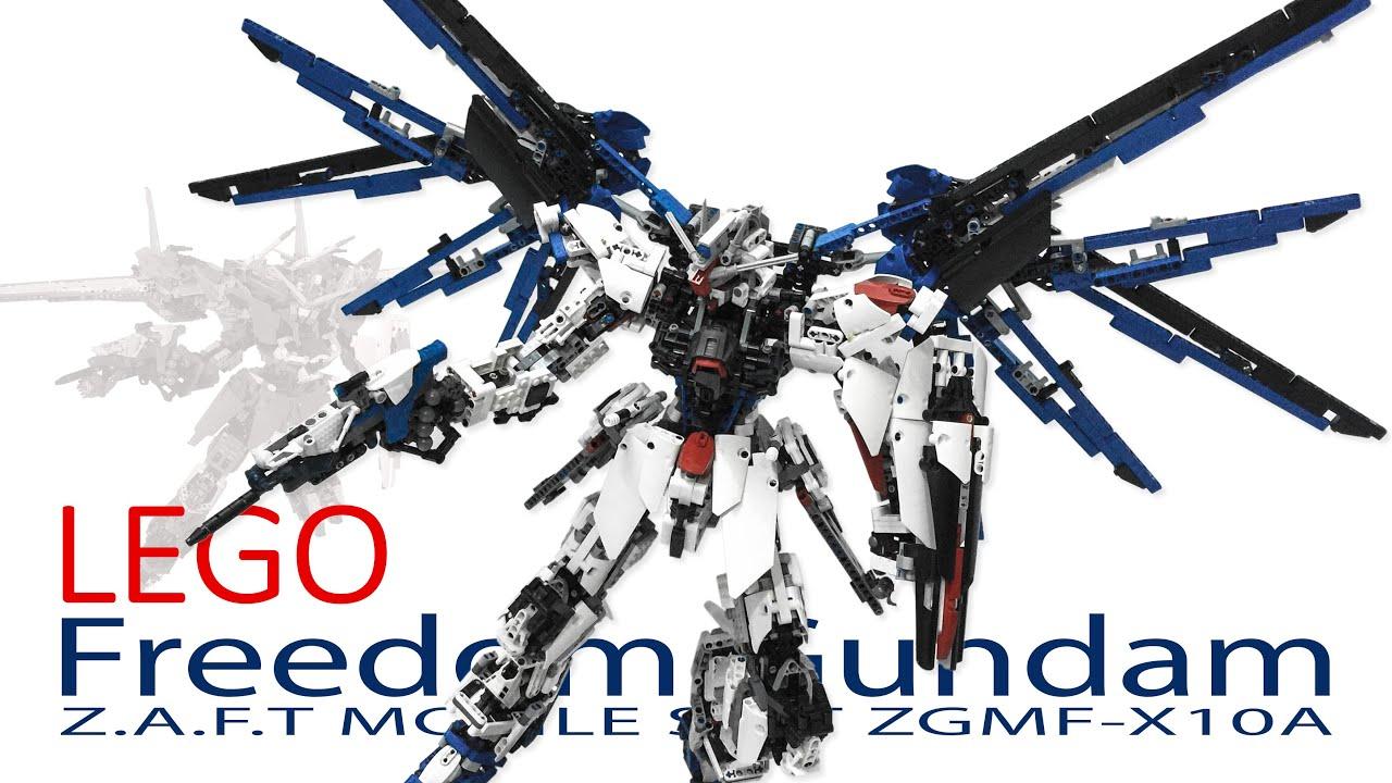 [ MOC ] LEGO Freedom Gundam ZGMF-X10A ( Mobile Suit Gundam ...