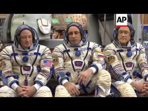 International crew train in Russia for space trip