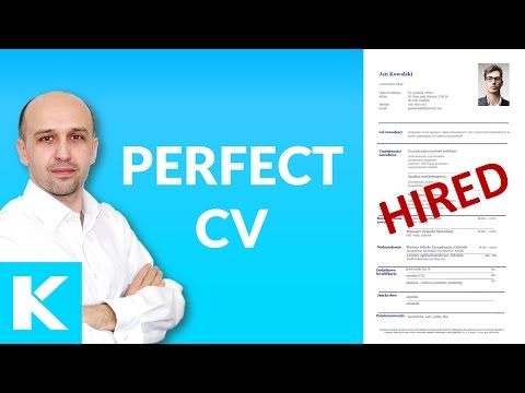 Perfect CV / resume - examples discussed - Lots of TIPS, lay-out, wording, structre,