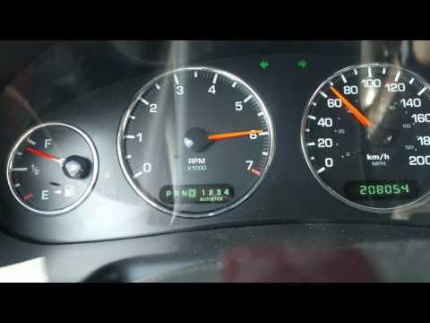 Chrysler Intrepid 2004 0-100 kmh (0-60 mph) 2.7 L