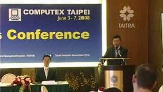 видео Выставка Computex 2008