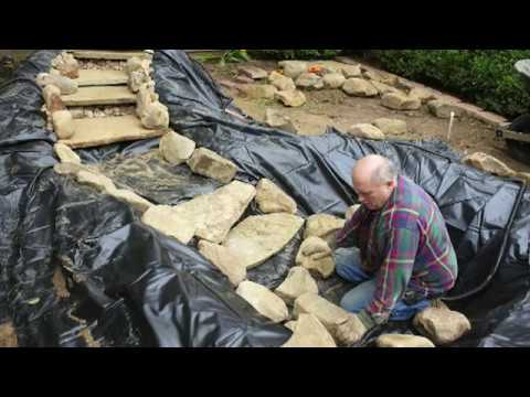 Step-by-Step Guide on How To Build A Pond with a Cascading Waterfall
