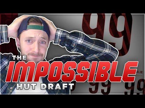 THE IMPOSSIBLE HUT DRAFT! (NHL 17 DRAFT CHAMPIONS)