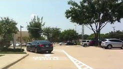 Driving in Plano Texas Video 2 15th street from it's Western start East bound to downtown Plano