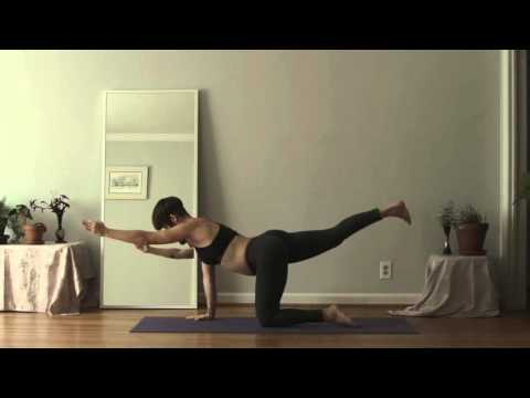 Intermediate Power Prenatal Yoga Flow for 1st & 2nd Trimeste