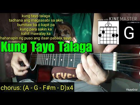 Skusta Clee - Kung Tayo Talaga Guitar Cover (with Lyrics & Chords) Tutorial