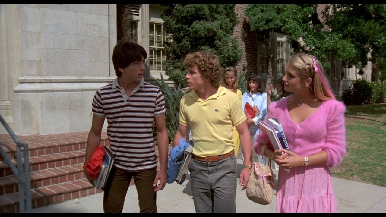 """Download Young Heather Thomas in Revealing Pink Outfits from """"Zapped"""" 1080P BD"""