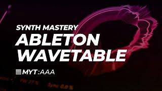 Ableton Live 10 Wavetable Sound Design Masterclass: Paul Nolan at Liverpool Audio Network