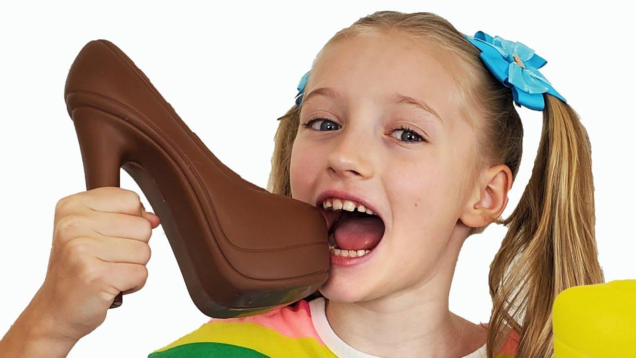 Шоколад и настоящее от Супер Полины