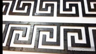 Греческий орнамент  фрезером .
