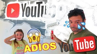 ADIOS YOUTUBE 😱 Comenzamos una nueva etapa / Family Fun Vlogs