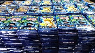 Opening 1,000 Evolutions Pokemon Packs