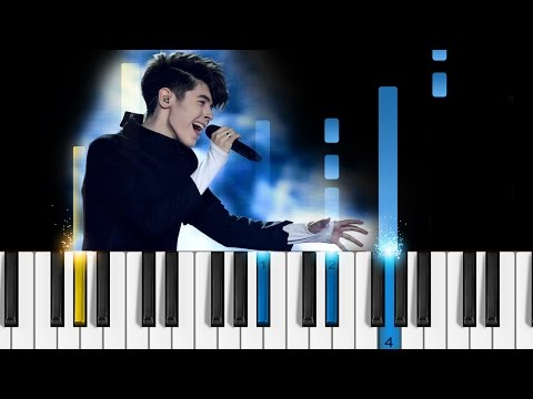Kristian Kostov - Beautiful Mess - Piano Tutorial - Eurovision Song Contest 2017