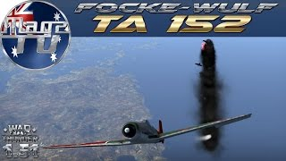 War Thunder - Focke-Wulf Ta 152 - Realistic Battle