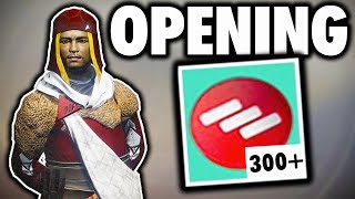 OPENING 300+ FACTION TOKENS IN DESTINY 2! (FACTION RALLY ENGRAM OPENING)