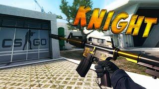 CS:GO - M4A1-S | Knight Gameplay