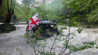 [4x4] Extreme' Adventure, 4x4  Deep River Crossing !
